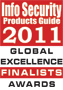 Endpoint Protector Appliance, Finalist for 2011 Global Product Excellence Awards